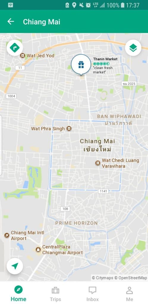 map-of-siri-wattana-thanin-market