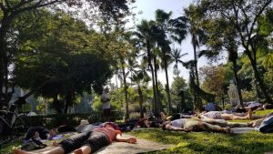 yoga in the park - chiang mai 2019