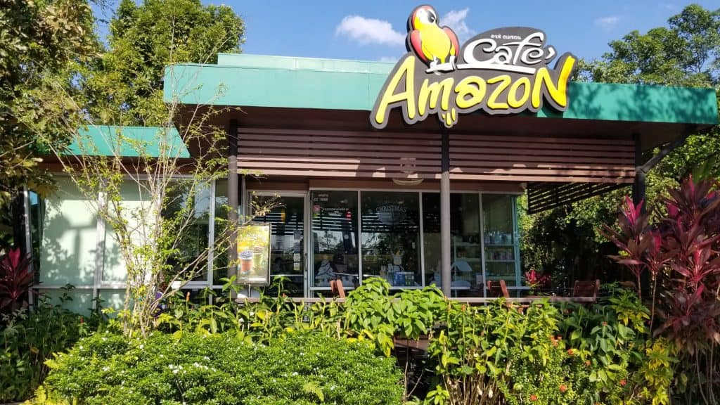 cafe amazon by Chiang Mai Immigration Office
