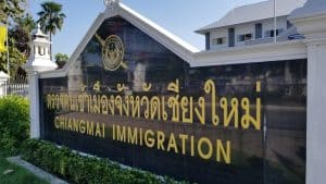 chiangmai immigration office near airport