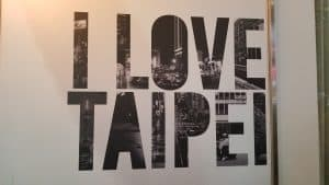 Do you love taipei or do you love taipei?