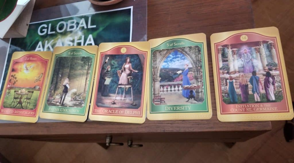 Oracle Cards from Akashic Records Reading